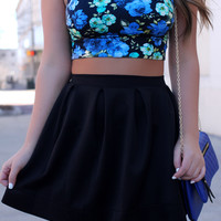 No Comparison Skirt - Black