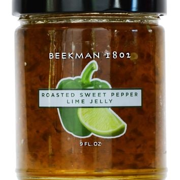 Roasted Sweet Pepper Lime Jelly