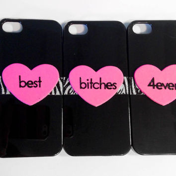 Best Bitches iPhone 4/4S 3 Case Set