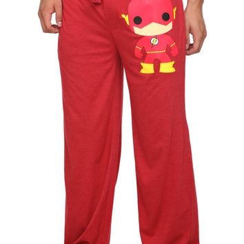 DC Comics Pop! The Flash Men's Pajama Pants