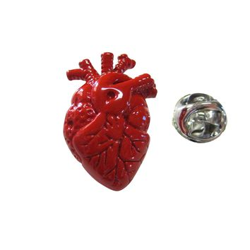 Anatomical Heart Lapel Pin