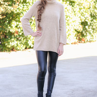 Force of Nature Sweater - Taupe