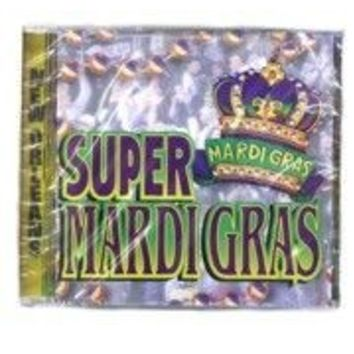 Super Mardi Gras Music CD