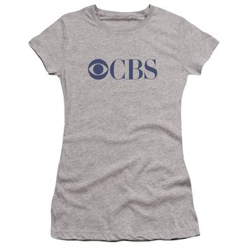 Cbs Logo Premium Bella Junior Sheer Jersey