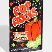 Pumpkin Patch Pop Rocks