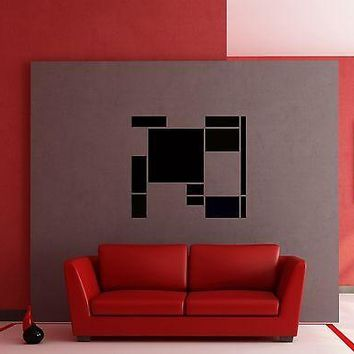 Wall Stickers Vinyl Decal Modern Abstract Decor for Bedroom  Unique Gift z1225