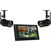 "Uniden 7"" Portable Video Surveillance System With 2 Outdoor Cameras"