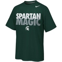 Nike Michigan State Spartans Selection Sunday Local T-Shirt - Green