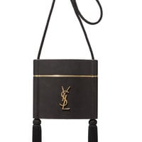Saint Laurent - Opyum tasseled leather shoulder bag