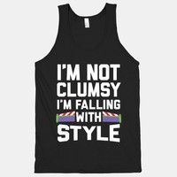 I'm Not Clumsy, I'm Falling With Style | HUMAN