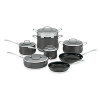 Cuisinart® Contour Hard Anodized 13-Piece Cookware Set and Open Stock
