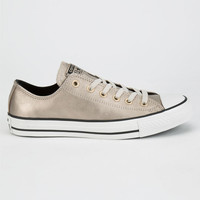 Converse Chuck Taylor All Star Metallic Womens Shoes Champagne  In Sizes