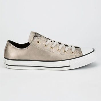 d3bacd6e620c Converse Chuck Taylor All Star Metallic Womens Shoes Champagne In Sizes
