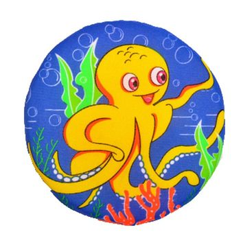 Soft Cloth Frisbee Outdoor Sports Toy for Kids, Small Octopus