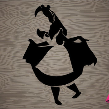 alice in wonderland vinyl decal sticker, free shipping