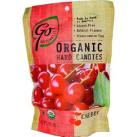 Go Naturally Cherry Hard Candy (6x3.5oz )