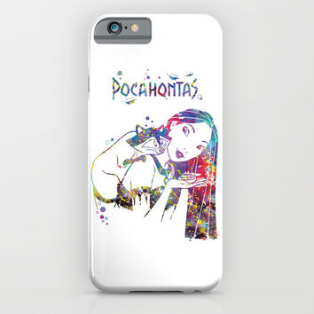 Pocahontas and Meeko iPhone & iPod Case by Bitter Moon