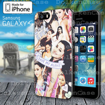 Ariana Grande Collage Case for iphone 4/4S/5/5S/5C or Samsung Galaxy S3/S4/S5