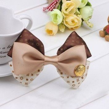 Hair hairpin ribbon bowknot with Hooks anchor from Fancy Mall