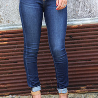 Mya Dark Wash Skinnies