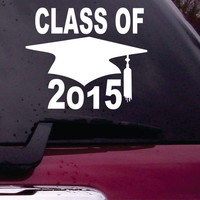 Class of 2015  Decal Sticker Vinyl Decal Sticker Art Graphic Stickers Laptop Car Window