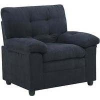 Buchannan Microfiber Chair, Multiple Colors - Walmart.com