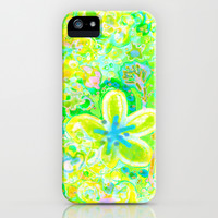 Sunny Summer Batik  iPhone & iPod Case by RokinRonda