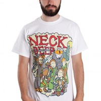 Neck Deep - LOTR White - T-Shirt