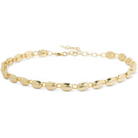 Elizabeth and James - Blake gold-plated choker