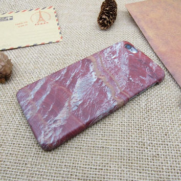 Fashion phone shell red marble For iPhone 7 7Plus iphone 5 5s SE 6 6s 6 plus 6s plus case + Nice gift box 072601