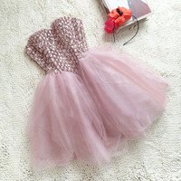 Elegant Pink Homecoming Dresses with Lace up Back