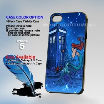 Doctor Who Meets Disney Tardis, Photo On Hard Plastic iPhone 4 4S Case
