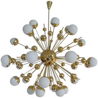 "Huge ""Sputnik"" Chandelier"