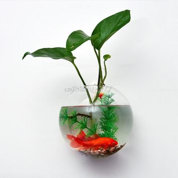 Home Wall Hanging Glass Flower Planter Vase Terrarium Container Garden Decor #H0VH# Drop shipping
