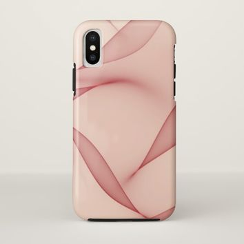 Abstract Leaves iPhone X case 2
