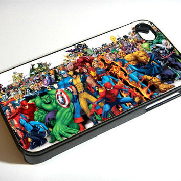 Comic - Print on iPhone 4/4s Case - iPhone 5 Case - Samsung Galaxy S3 - Samsung Galaxy S4