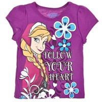 Follow Your Heart T Shirt 2T 4T 712807204 | Tops | Toddler Girl Clothes | Clothing | Burlington Coat Factory