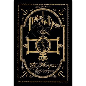 S302 Panic! At the Disco Rock Music Band Wall Art Painting Print On Silk Canvas Poster Home Decoration