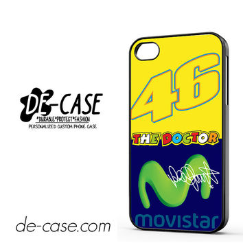 Valentino Rossi Movistar DEAL-11608 Apple Phonecase Cover For Iphone 4 / Iphone 4S