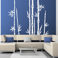 Bamboo tree wall decal, wall sticker, wall art, decal, wall graphic, vinyl decal, vinyl graphic wall decal