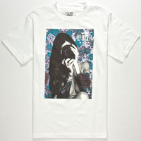 Fly Society Say Cheese Mens T-Shirt White  In Sizes
