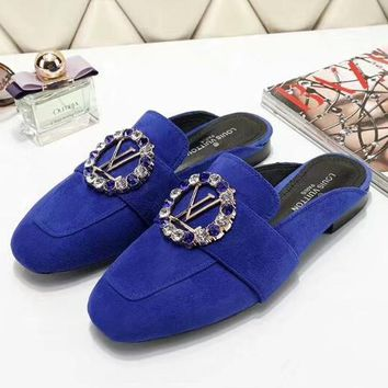 Louis Vuitton Women Fashion Casual Flats Shoes-3