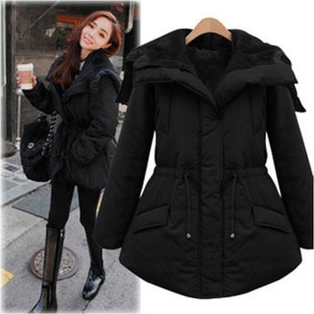 Women's Trending Popular Fashion 2016 Slim Outerwear Jacket _ 5108