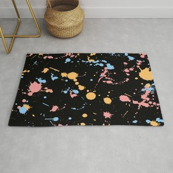 Spatter Rug by duckyb