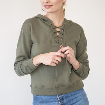Ellie Sweater - Olive