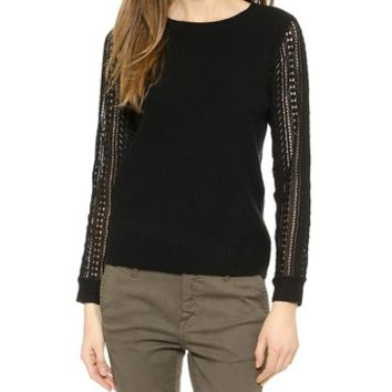 Club Monaco Noma Lace Sweater
