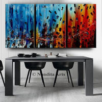 "Painting, Abstract Painting, Modern Art, Large Wall Art, Contemporary Art, Abstract Original Painting 72"" Acrylic Painting Living Room Decor"