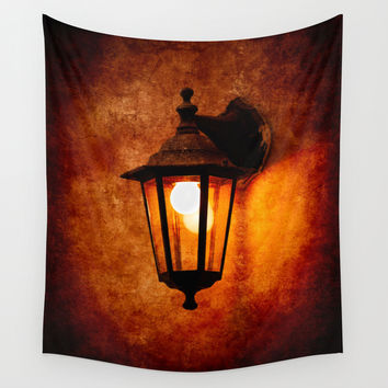 The Age Of Electricity Wall Tapestry by Digital2real