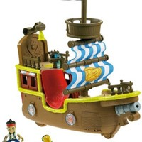Fisher-Price Disney's Jake and The Never Land Pirates - Jake's Musical Pirate Ship Bucky | www.deviazon.com
