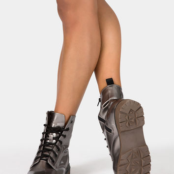 Free Shipping - Combat Boot by DOUBLE PLATINUM